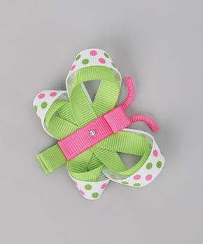 Pink & Green Fish Clip | Daily deals for moms, babies and kids