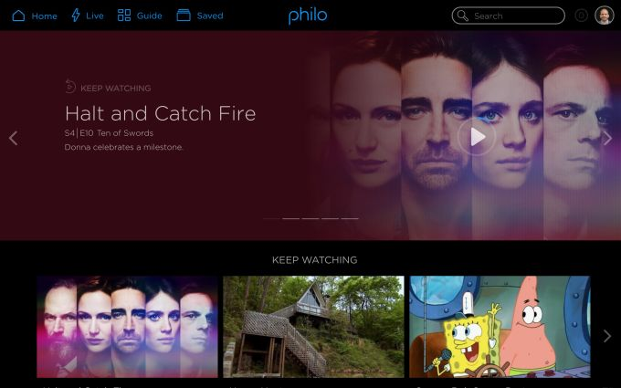 Philo ditches sports to introduce a $16 per month live TV service