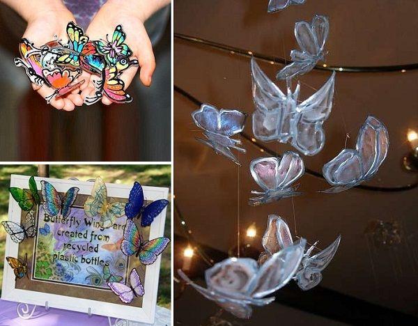 Diy pretty butterflies from plastic bottles bottle for Pretty plastic bottles