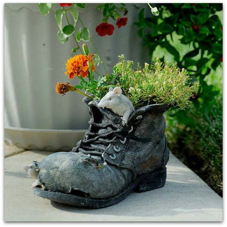 South Central Gardening Landscaping Ideas You Can Use: 1000+ Images About Old Boots Garden On Pinterest