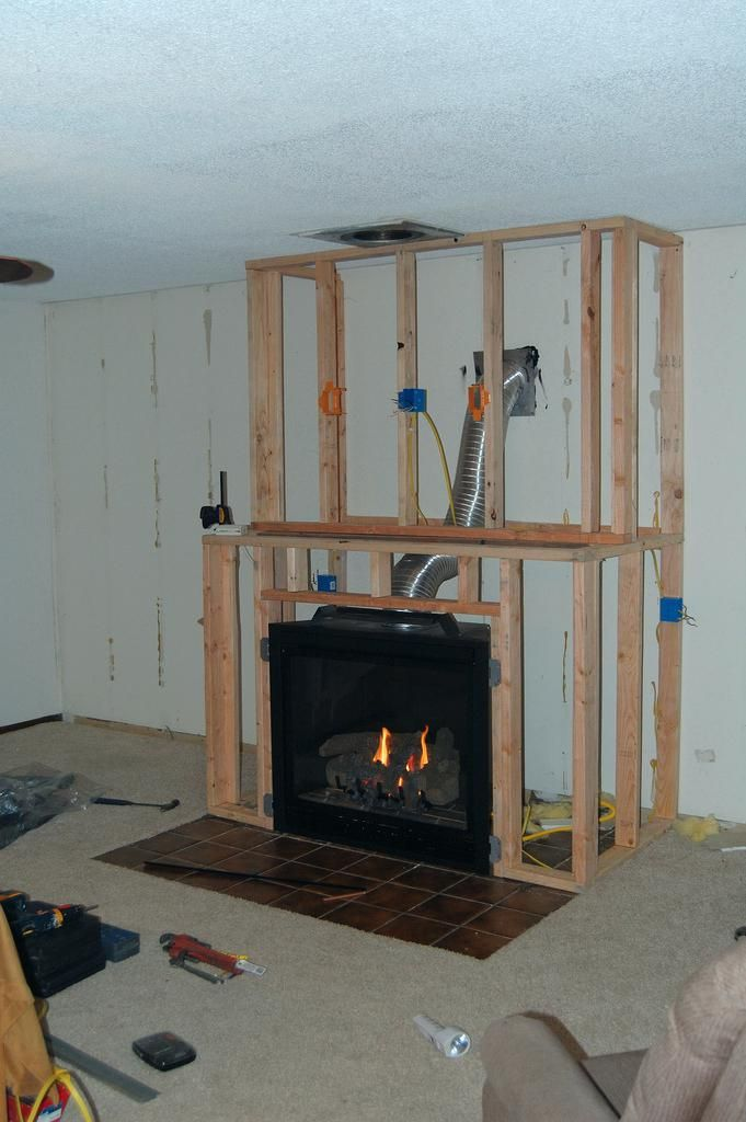 Wie Sie Einen Gas Kamin Zu Einem Bestehenden Haus Gaskamin Kamin Wohnzimmer Kaminbau Kamin Modern