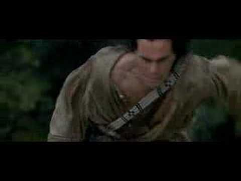 """A short scene from Michael's Mann film The Last of the Mohicans . """"I Will Find You"""""""
