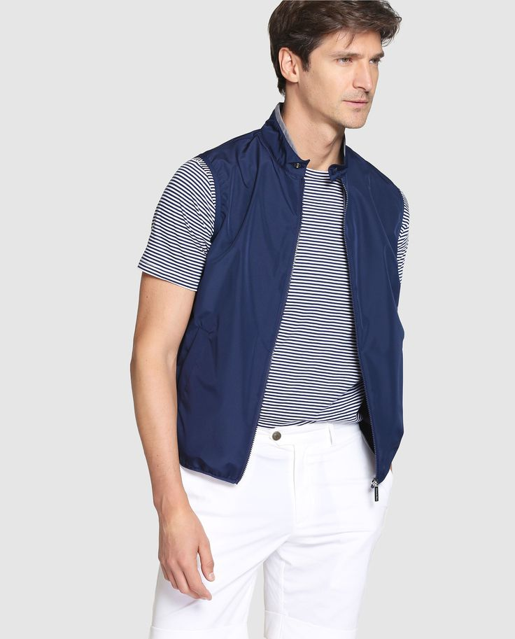 Chaleco de abrigo de hombre Black Emidio Tucci azul con dos bolsillos · Black Emidio Tucci · Moda · El Corte Inglés