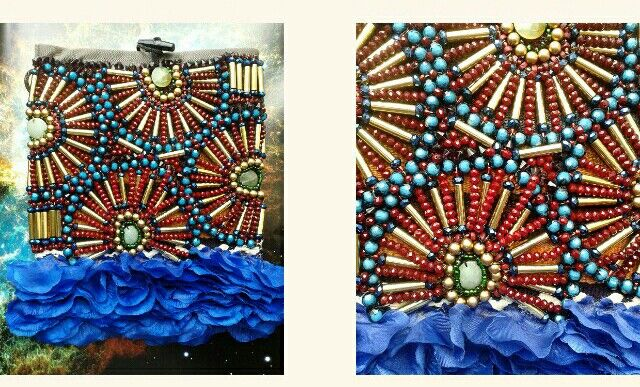 It's all about the intricate details. Beaded satchel by Anita Quansah London for AfrikHai.