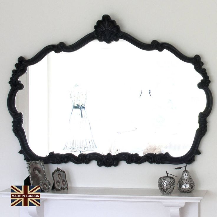 Are you interested in our Overmantel mirror? With our Black framed mirror you need look no further.