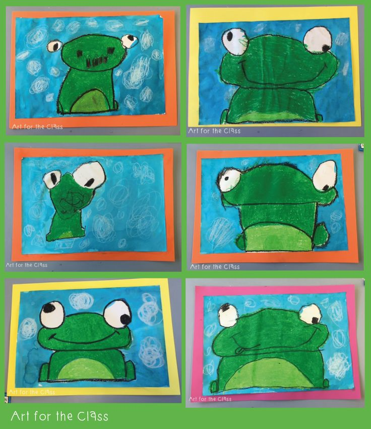 Last week my class made these adorable frog artworks. We read a frog based story that complemented our unit of work on water. I cannot reme...