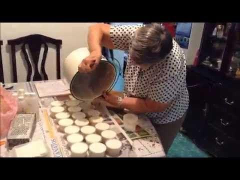 Cómo hacer Jabón de avena para rostro - YouTube