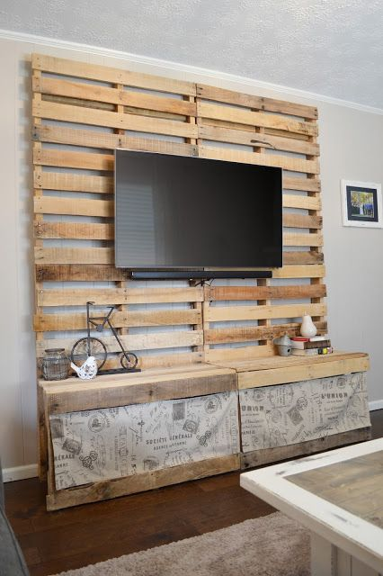 diy pallet entertainment center diy pallet entertainment center diy addiction 678