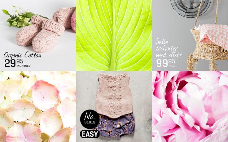 NEW: ORGANIC Vest & Futter - Stof & Stil