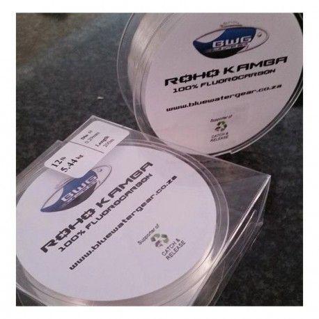 Blue Water Gear's Roho Kamba 100% Fluorocarbon in 200M Spools