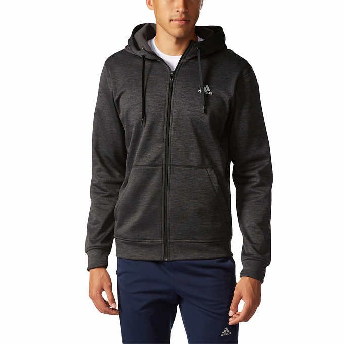 Special $34.99 (Marked Down From $65) ADIDAS Fleece Hoodie - Full Zip