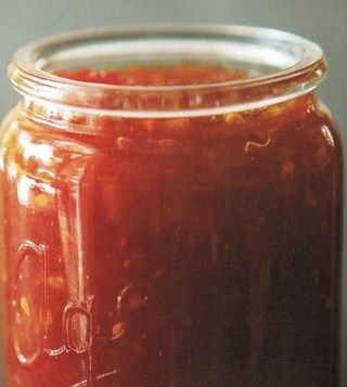 Ivy's Tomato Relish Recipe | Allyson Gofton