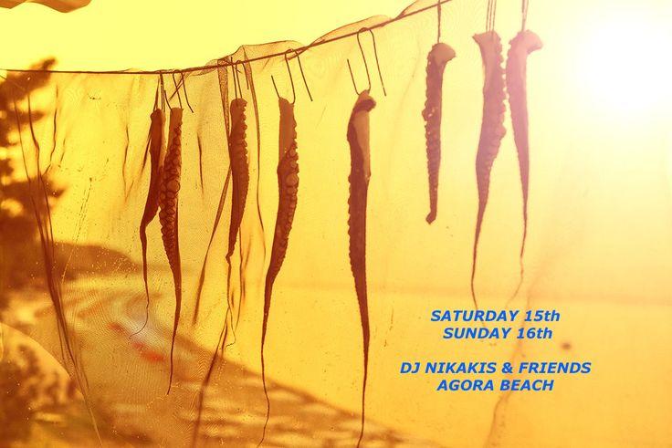 Event Poster, Agora Beach - Greek Restaurant & Beach Bar, Kriopigi, Halkidiki