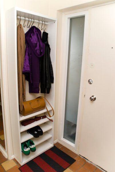 Foyer Closet For Garments : Best narrow shoe rack ideas on pinterest entryway