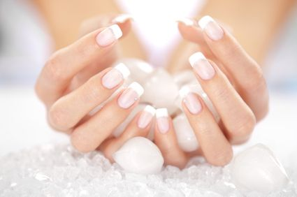 shellac french manicure pictures | ... nails gel nails manicures buff n polish shellac nails nail art charms