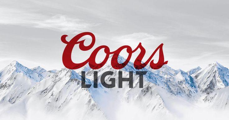 Coors Light En 2019 Coors Light Y Cerveza