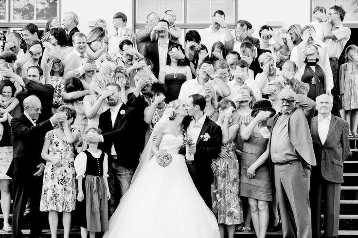 Sommer Hochzeitsfotografie Gruppenbild
