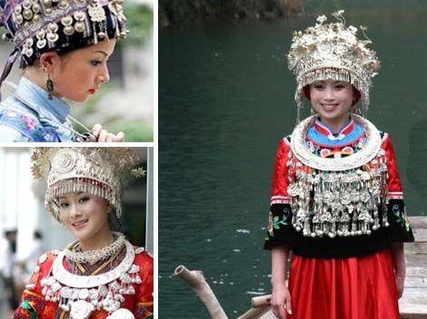 Miao bride: five steps to make a bridal dress - China culture