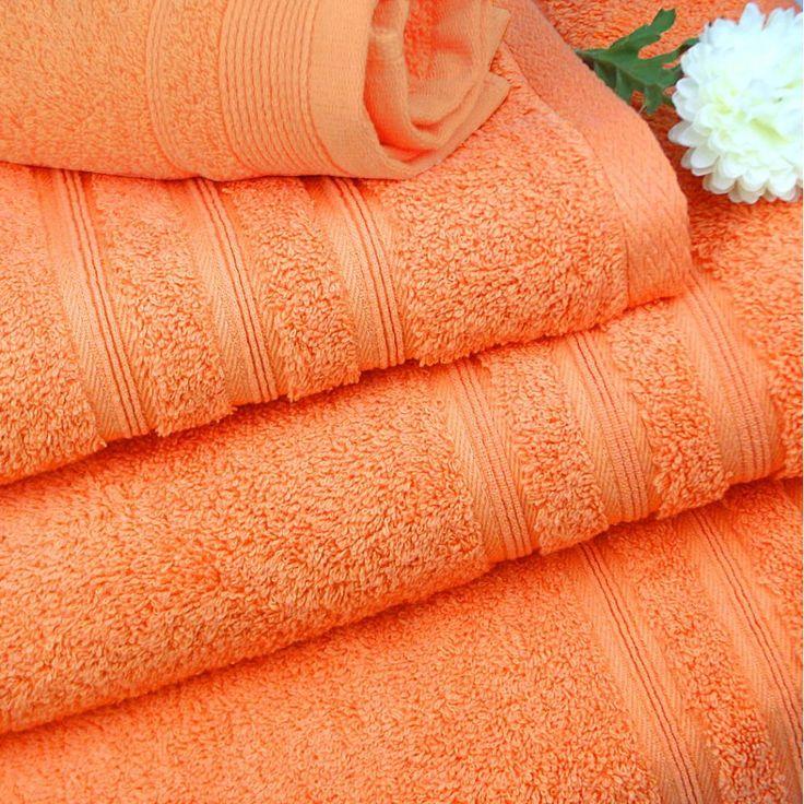 Toallas y juegos de toallas de algod n 100 de rizo for Perchas toallas bano