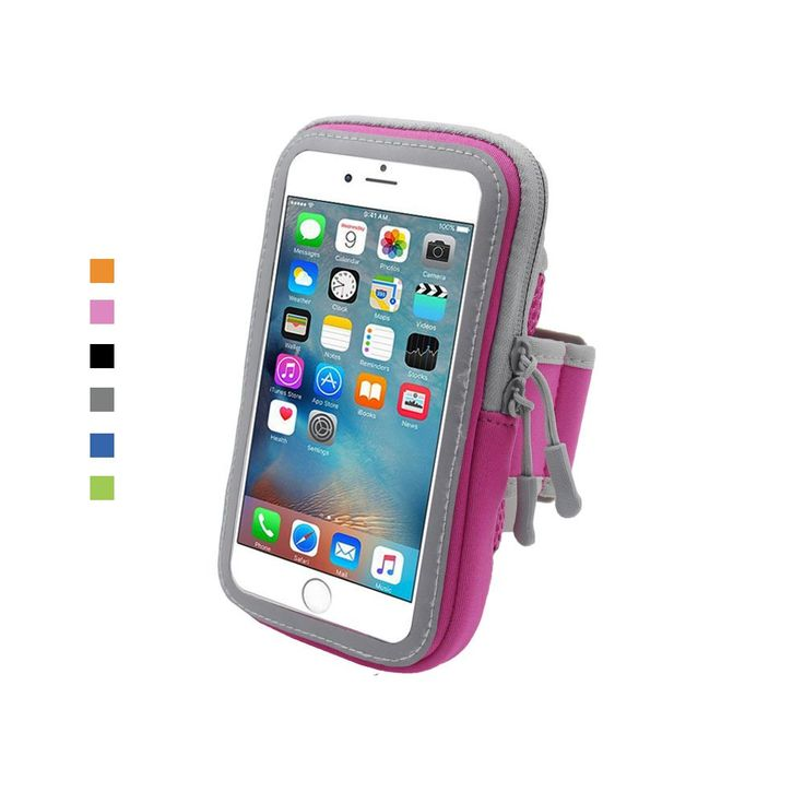 Armband Various Colors Running Armband with Touchable Case & Separate Zipper Pocket for Smartphone within 6 inch (iPhone 6/6S/7(plus) Samsung S5/S6/S7,LG,Sony (Pink). HIGH QUALITY WATERPROOF ARMBAND:This Armband is waterproof and suitable for most smartphone that within 5.7 inches.(iPhone 6/6S/7(plus) Samsung S5/S6/S7,LG,Sony, It is special designed for outdoor activities and sports like jogging, running, climbing, hiking, cycling, walking, skating etc. COMFORTABLE BREATHING MATERIAL AND...