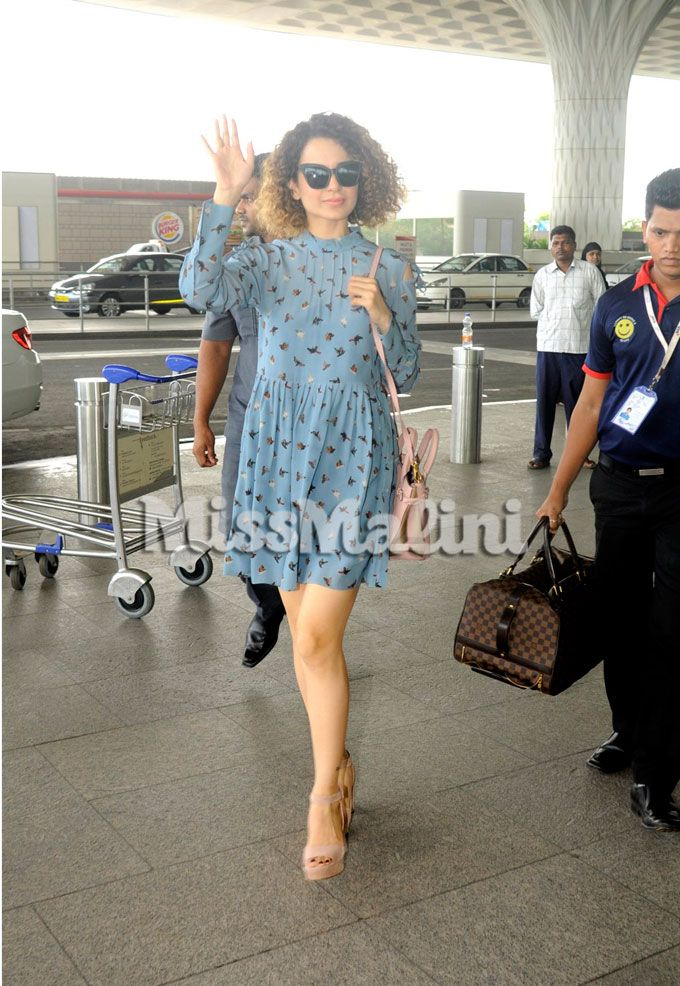 Kangana Ranaut Makes Getting Dressed For The Airport Look So Freakin Easy