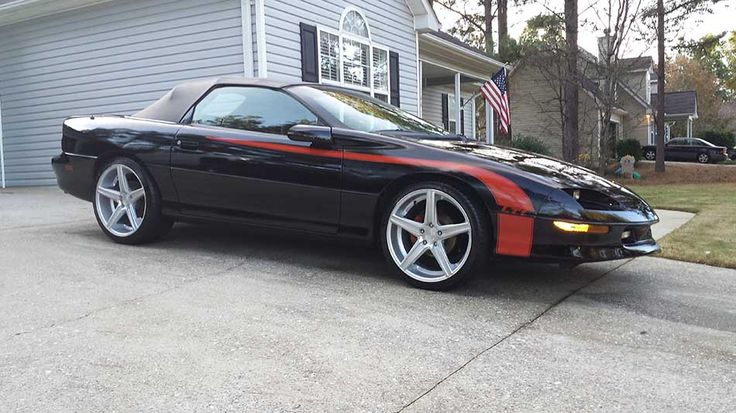 4th Gen 1994 Chevrolet Camaro Z28 Lt1 Convertible For Sale