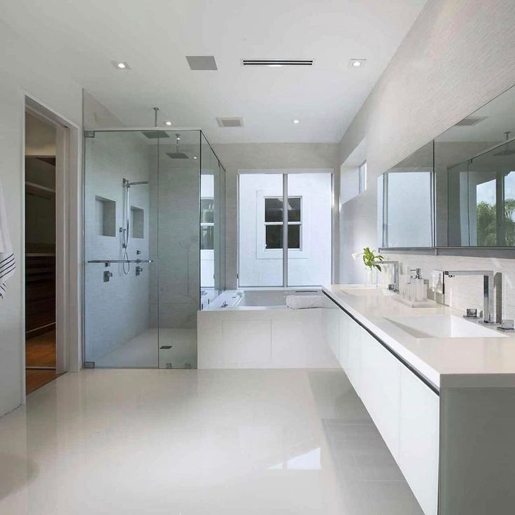 DETAILED MINIMALISM In This Gorgeous #MASTERBATHROOM #jacuzziluxurybath
