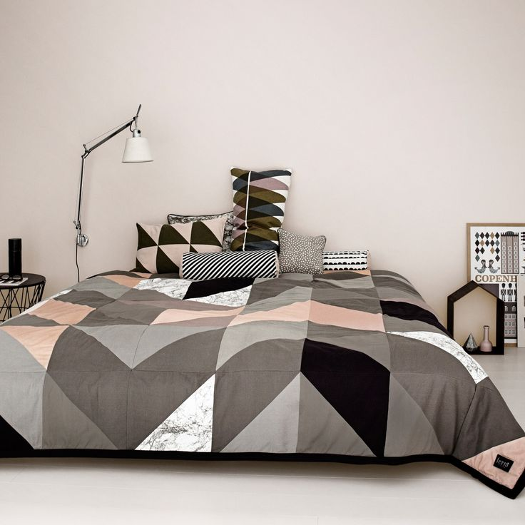 Die besten 25+ Bettwäsche schwarz Ideen auf Pinterest schwarze - schlafzimmer schwarz weiß