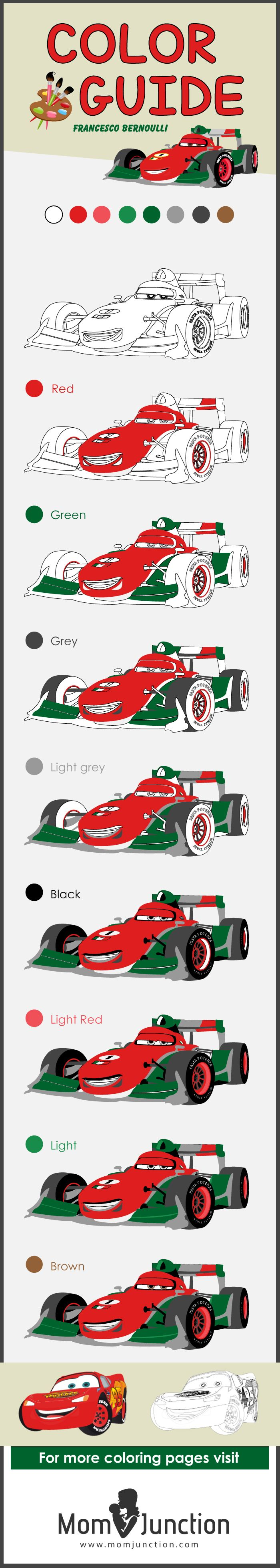 Coloring cars 2 online - Top 25 Free Printable Colorful Cars Coloring Pages Online