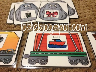 Great cards for using with deleting final sounds for TPRI!  L.C., SLP: Caboose Sounds final consonant trains!