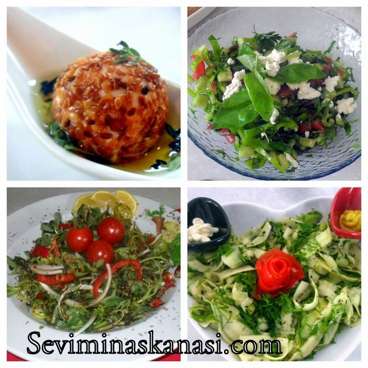 Kolay Yemek Tarifleri: İftar İcin Salata Meze Önerileri