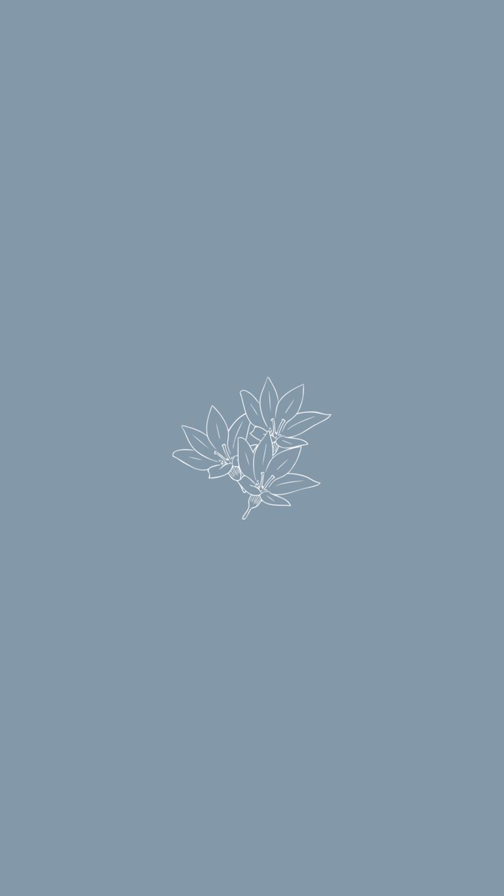 Pin On Fondos De Escritorio Minimalista In 2020 Blue Wallpaper Iphone Flower Wallpaper Cute Simple Wallpapers