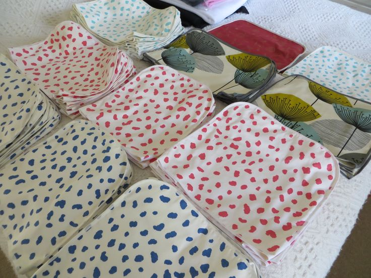Latest batch of covers for Kenwood, KitchenAid and Magimix - 37 m. of lovely Designer fabrics and many hours of work.