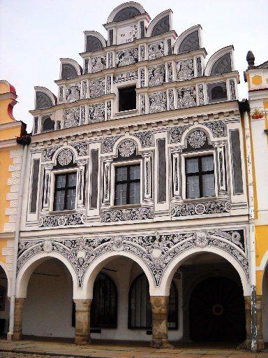 Telč - město zapsané na Seznam světového dědictví UNESCO -  Česko