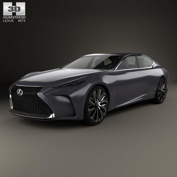 76 best Lexus 3D Models images on Pinterest | Cars ...