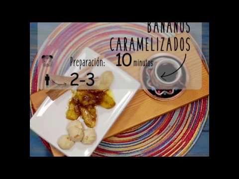 Bananos Caramelizados| Cromos - YouTube