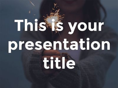 Katharine presentation template