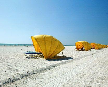 Treasure Island, Florida  That's where I was today!! Sunbathing in January!!