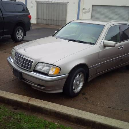 1998 MERCEDES C230 C280 INTERIOR / LEATHER SEATS LIKE NEW !