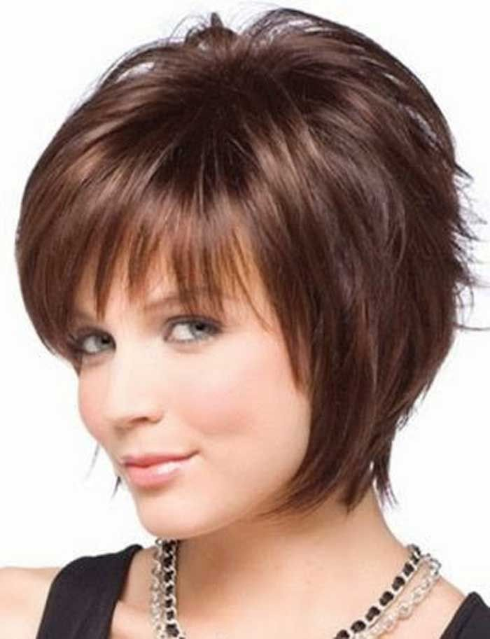 Short Hairstyles For Round Faces Young : The 25 best short hairstyles for women ideas on pinterest
