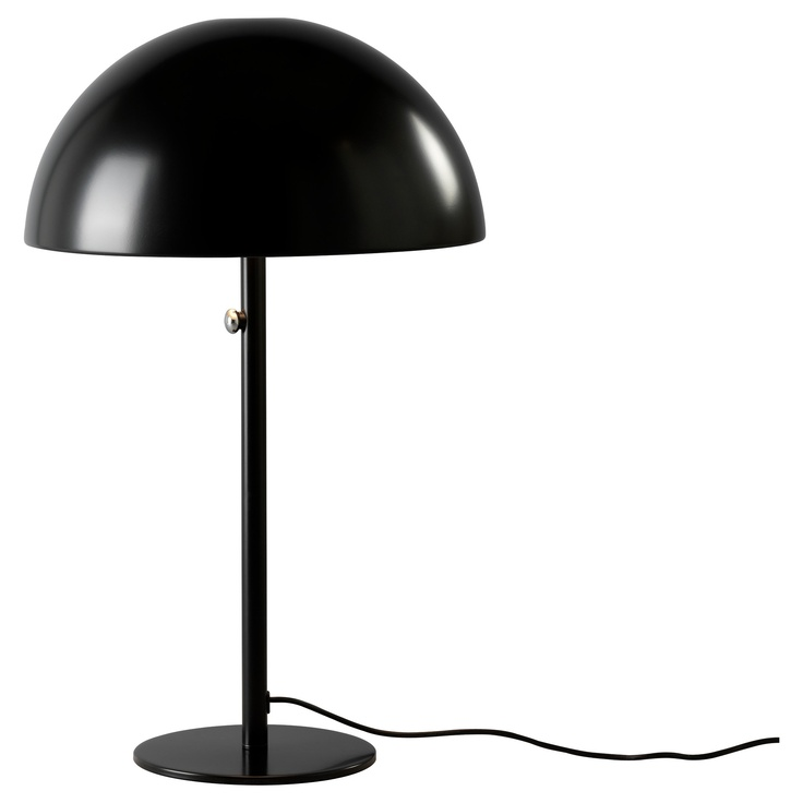 Ikea 365 Brasa Table Lamp Black Ikea Lighting