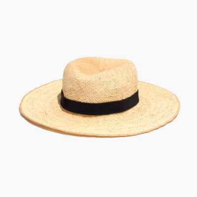 Packable Straw Hat : AllProducts | Madewell