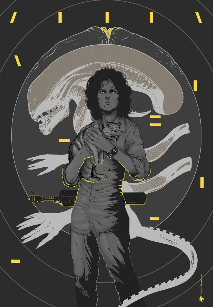 Series of ALIEN Tribute Art for the 35th Anniversary of the Film — GeekTyrant
