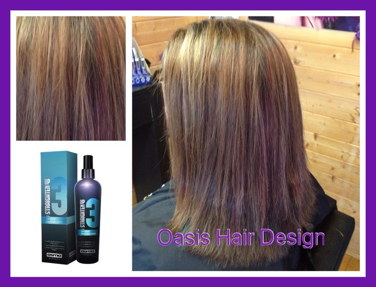 Blonde, copper , chocolate and black foils Osmo ikon  Finished off with Osmo ikon keratin 3 day treatment