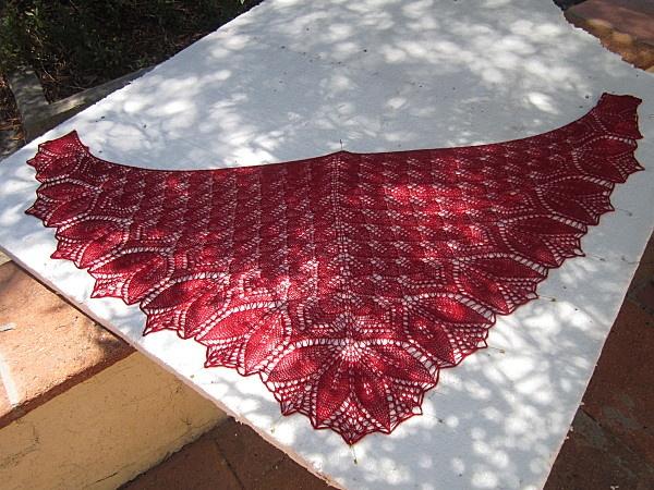 Tuto pour des châles au tricot avec (ou sans) dentelle de Systemeb