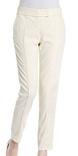 Generic Women's Polyster Straight Trousers X-Small White We adopt the international standard design, using a suitable fabric, suitable size and color variety.85% Polyester/15% ElastaneDo not use bleachTumble dry with low heatHand Wash