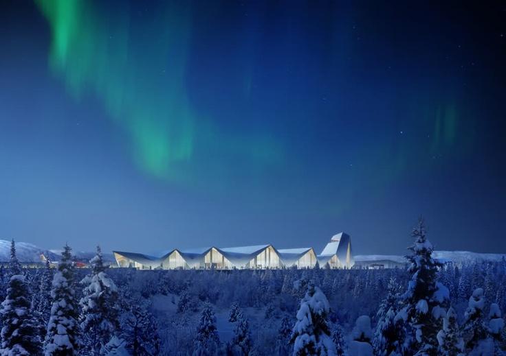 Arctic Circle Airport Mo i Rana