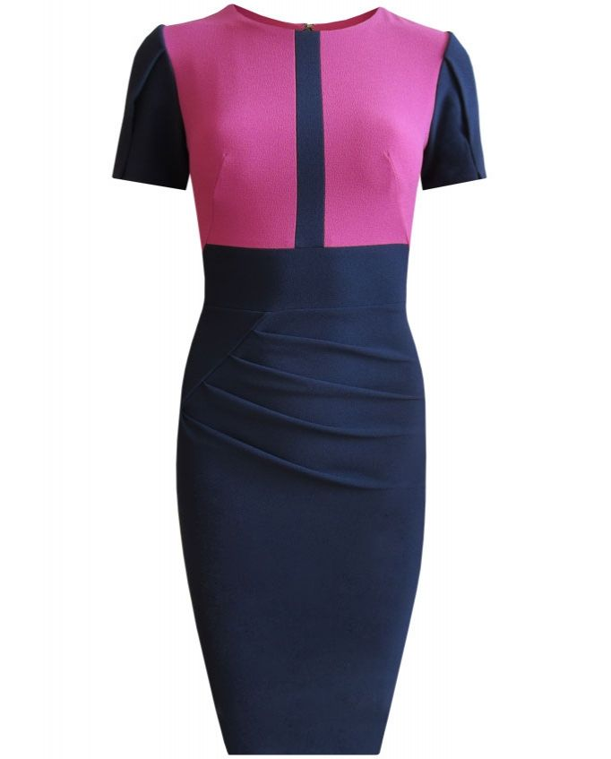 Justine #dress from #divacatwalk #Spring2014 #collection #colourblock