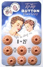 50's Pink Spoolie curlers!! Mom would curl our hair with these and we slept on them.