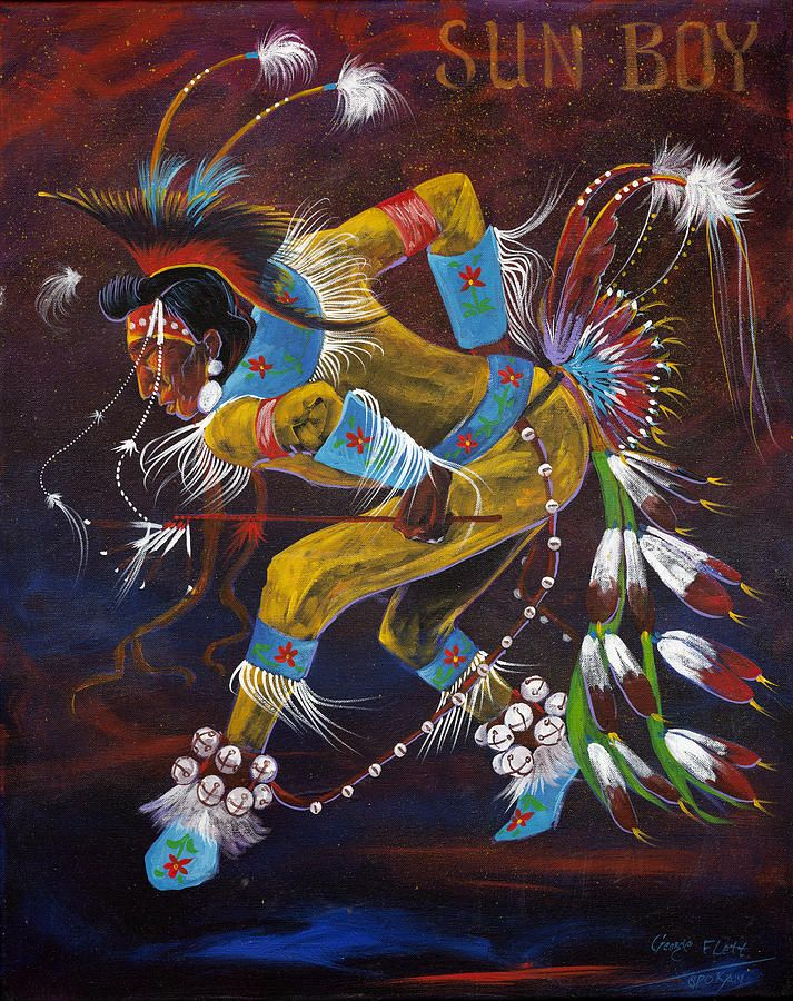 george flett artist | Sun Boy by Gorge Flett Spokane tribe - Sun Boy Photograph - Sun Boy ...miss George, RIP